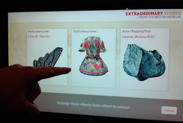 Extraordinary Stories from the British Museum Interactive