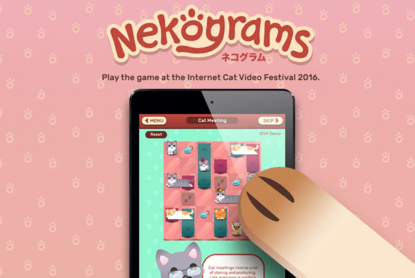 Nekograms at the Internet Cat Video Festival