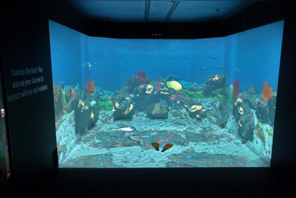Blue Room Interactive Installation at the WA Maritime Museum