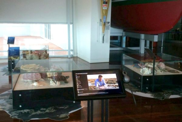 Reef Walk Touchscreen at the WA Maritime Museum