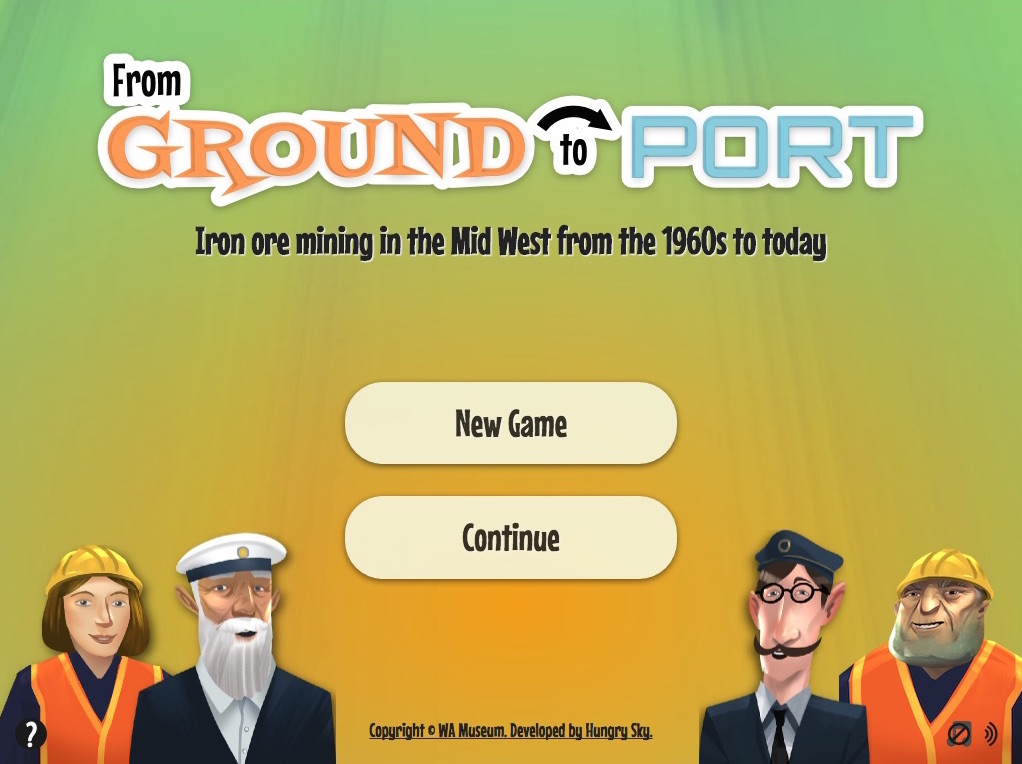 From Ground To Port